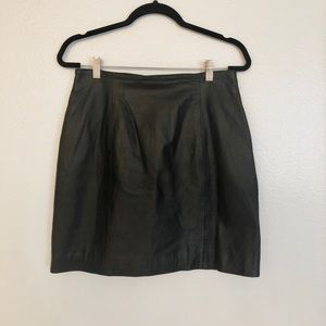 Wilsons Leather Experts Skirt Size 12